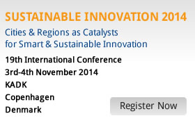 Sustainable Innovation 2013 Banner
